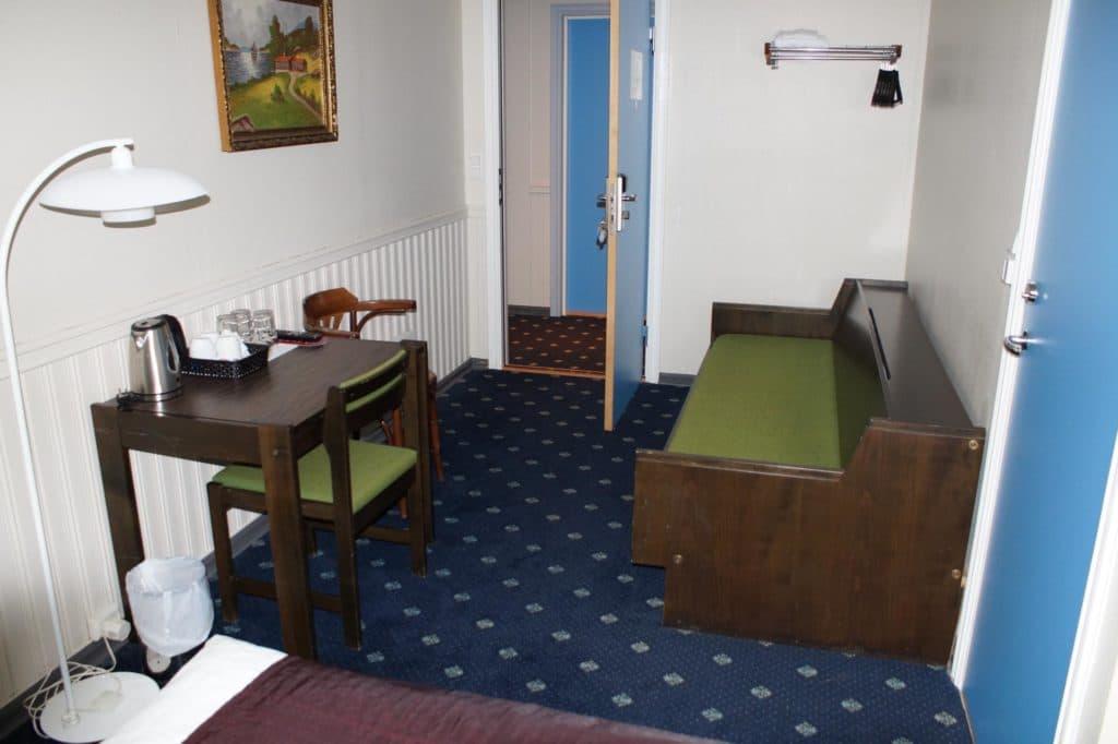 Doppelzimmer Eingang